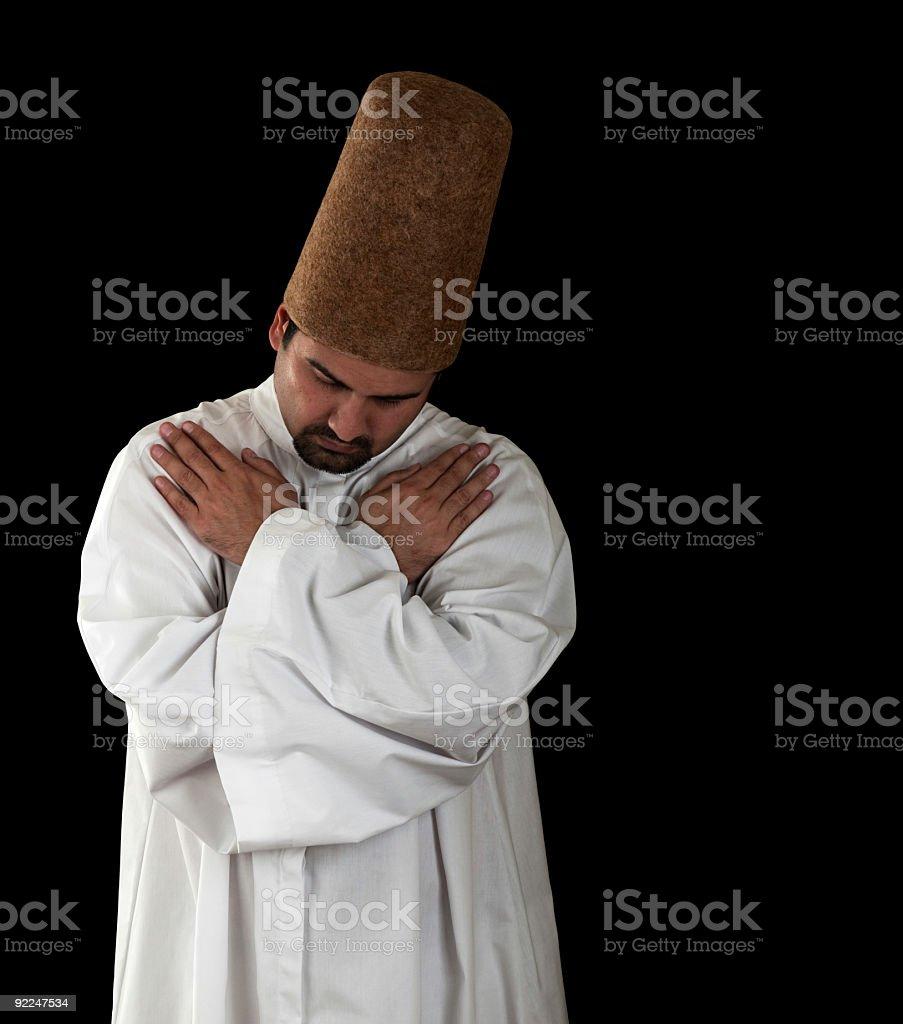 Mevlevi Sufi  Dervish stock photo