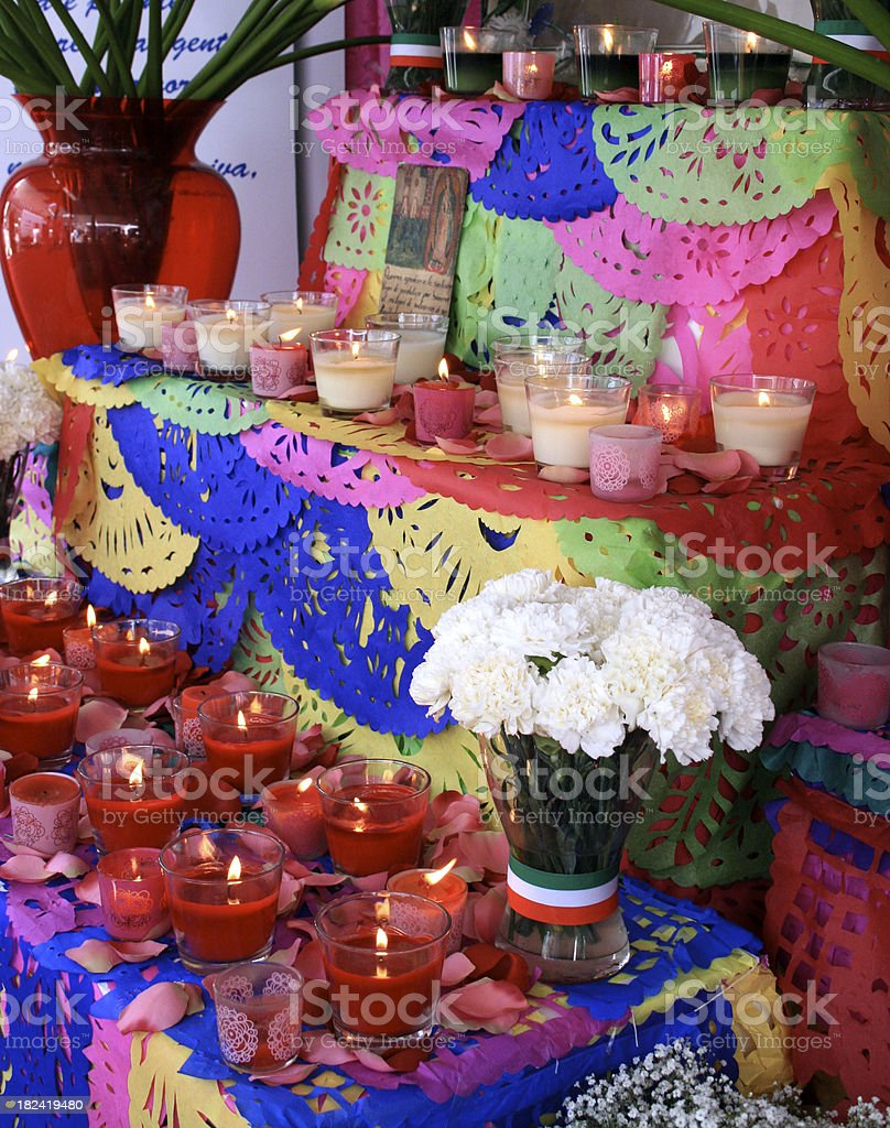 mexican altar royalty-free stock photo