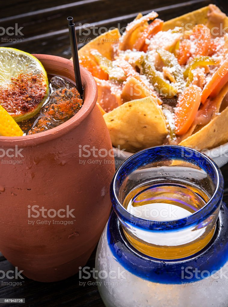Mexican Appetizer stock photo