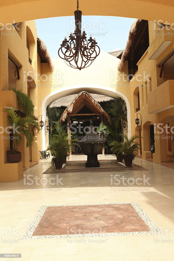 Mexican architecture royalty-free stock photo