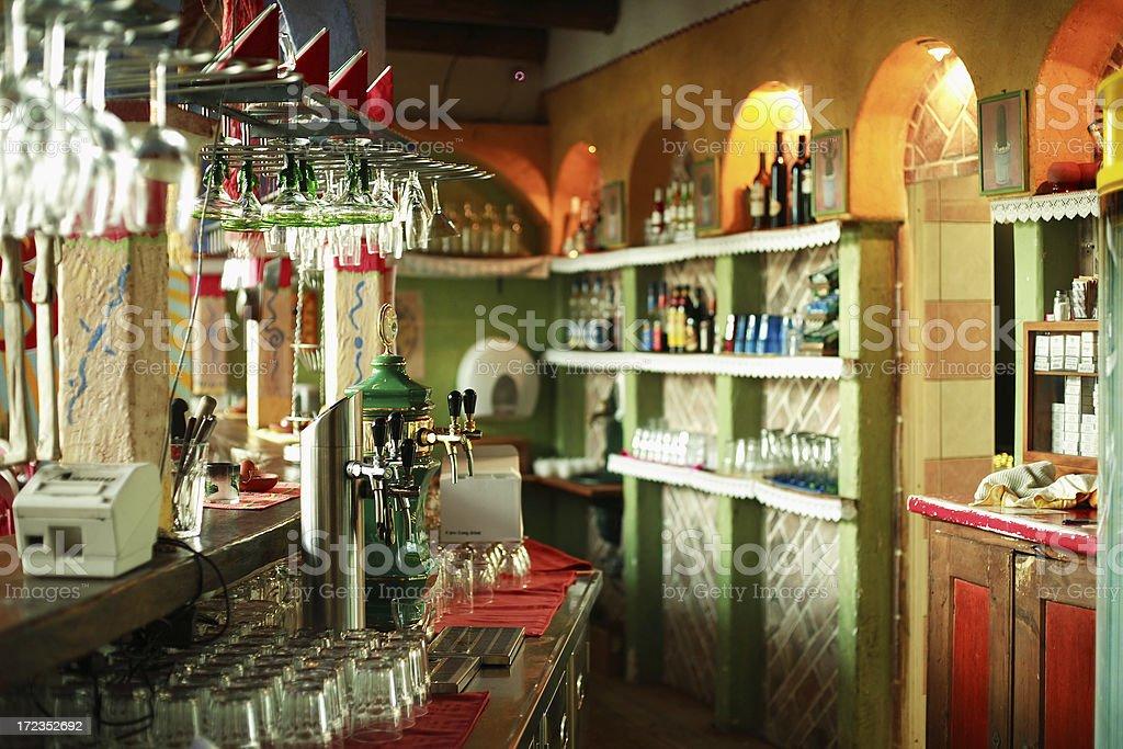 Mexican bar Imperio Mexicano royalty-free stock photo