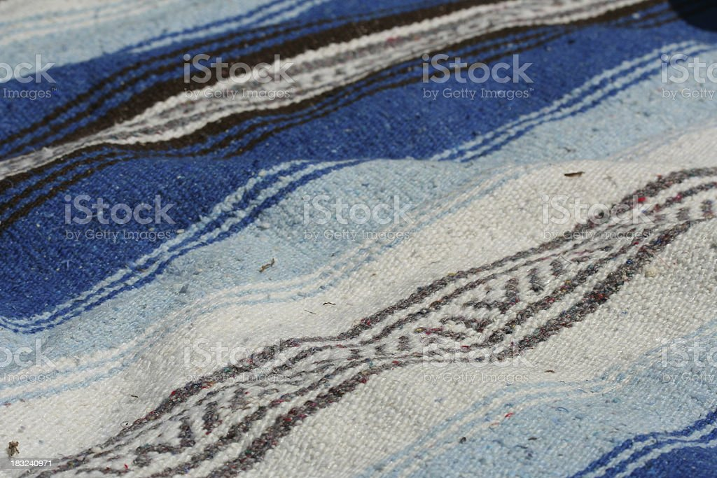 mexican blanket royalty-free stock photo