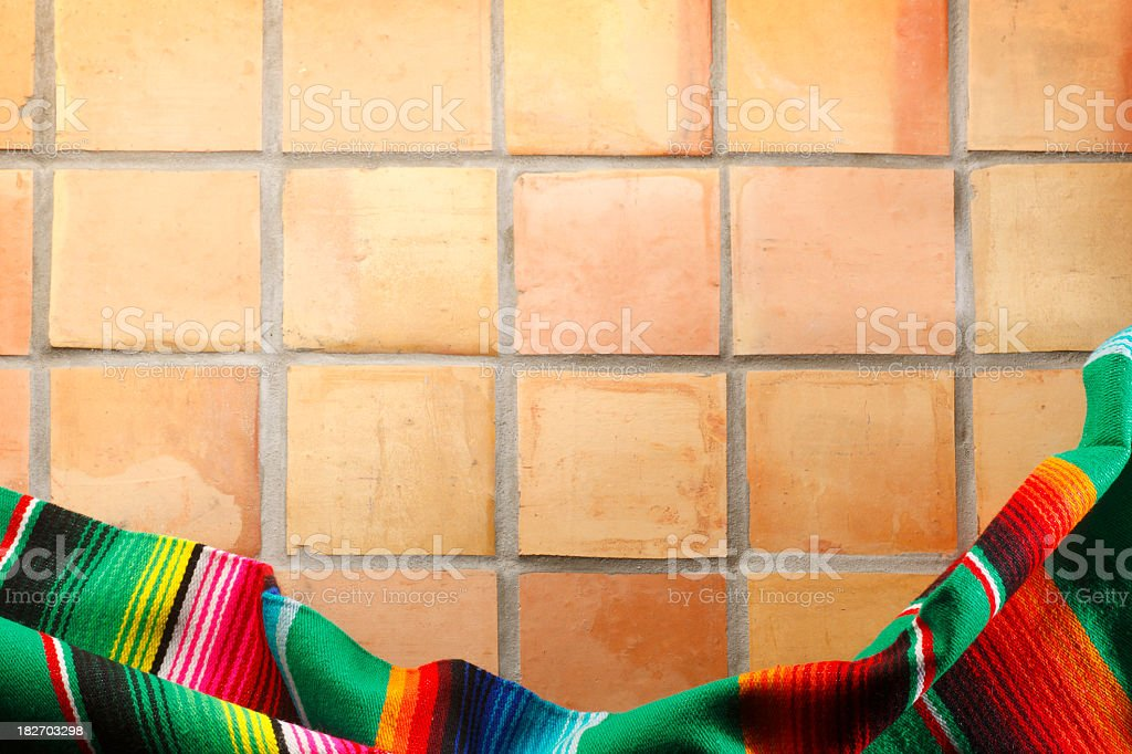 Mexican Blankets royalty-free stock photo