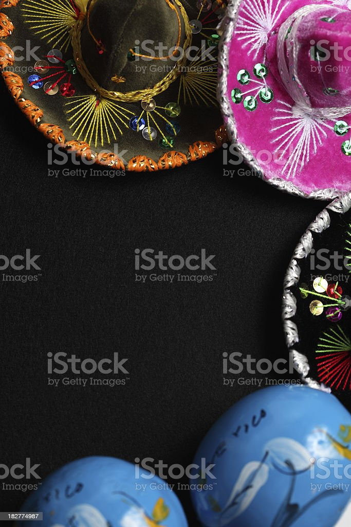 Mexican border royalty-free stock photo