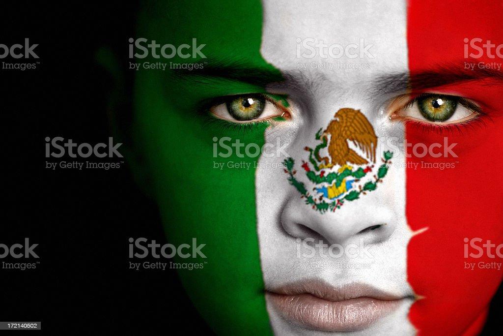 Mexican boy stock photo