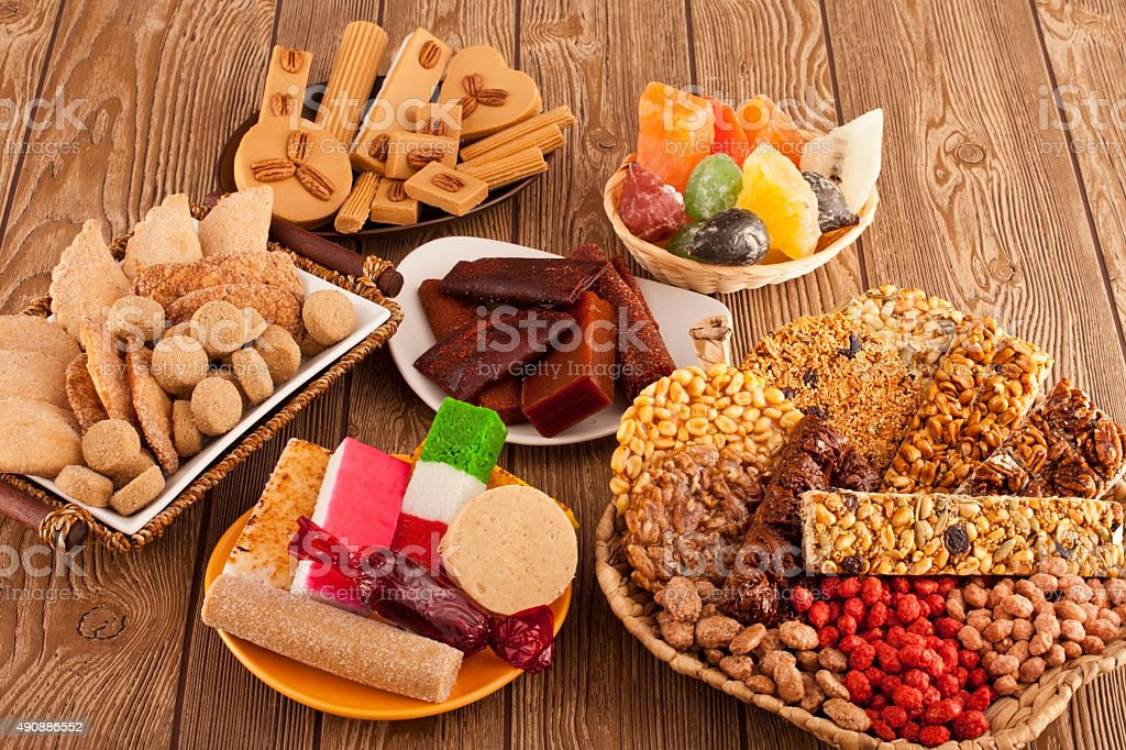 Mexican Candies stock photo