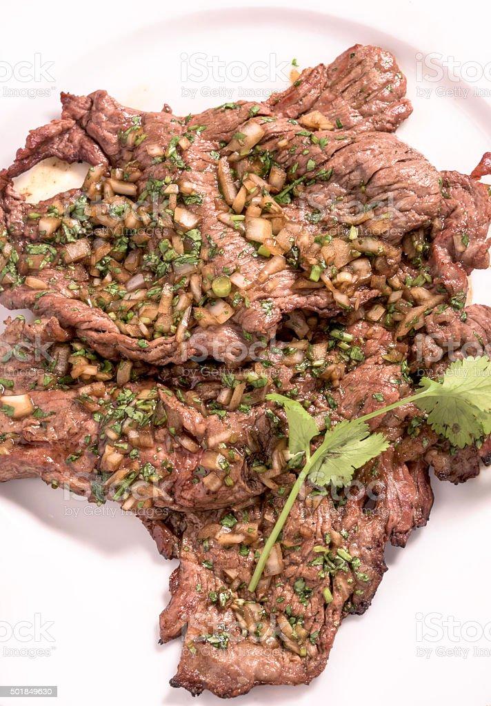 Mexican Carne Asada stock photo