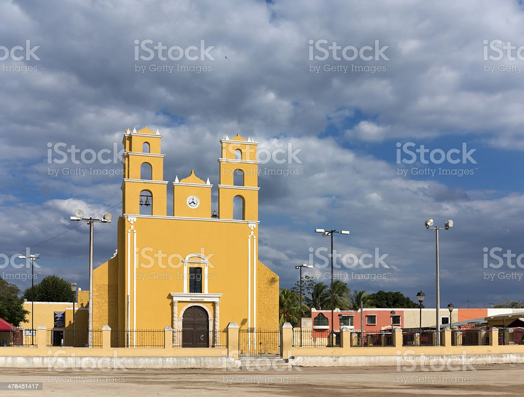 Mexican Church royalty-free stock photo