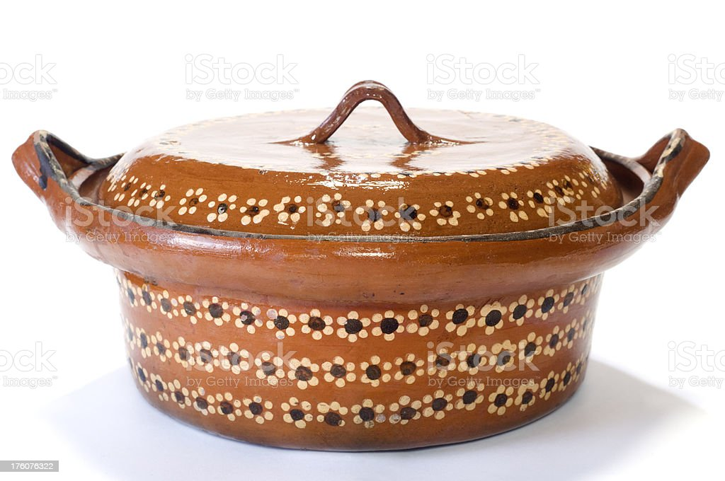 Mexican Cooking Pot stock photo
