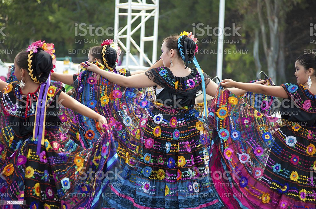 Mexican Dancers royalty-free stock photo