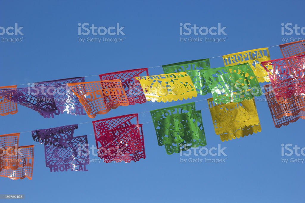 Mexican decorative Papers stock photo