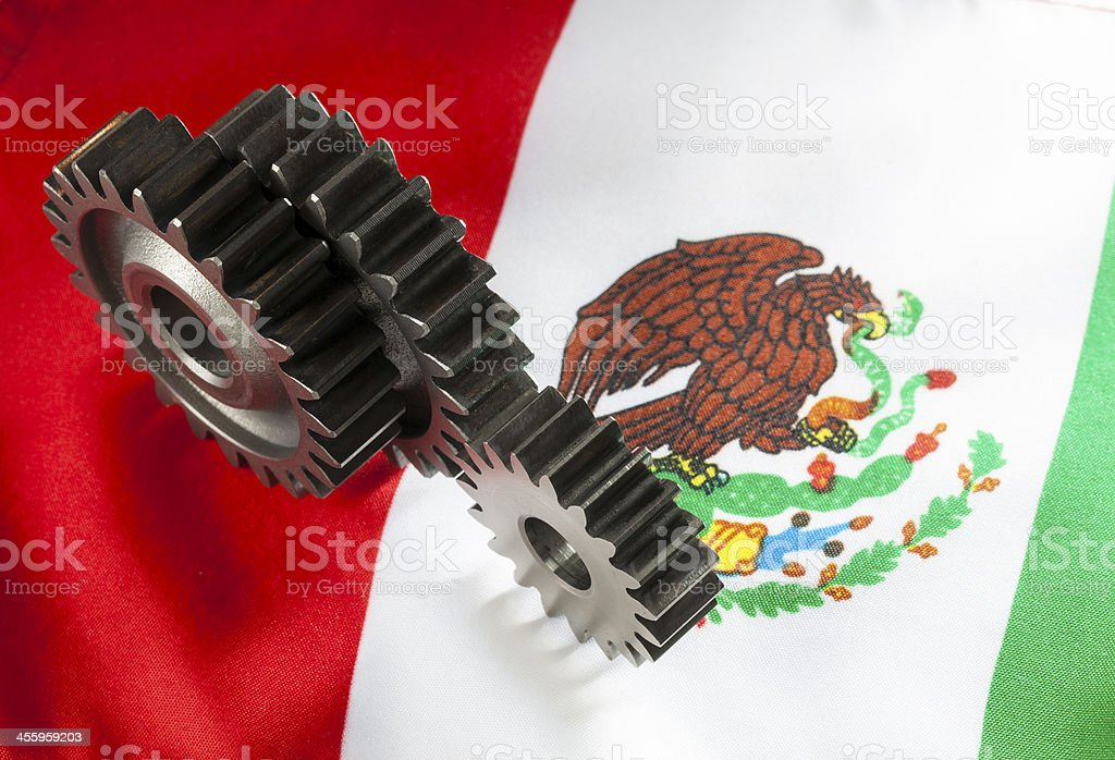Mexican Engineering stock photo