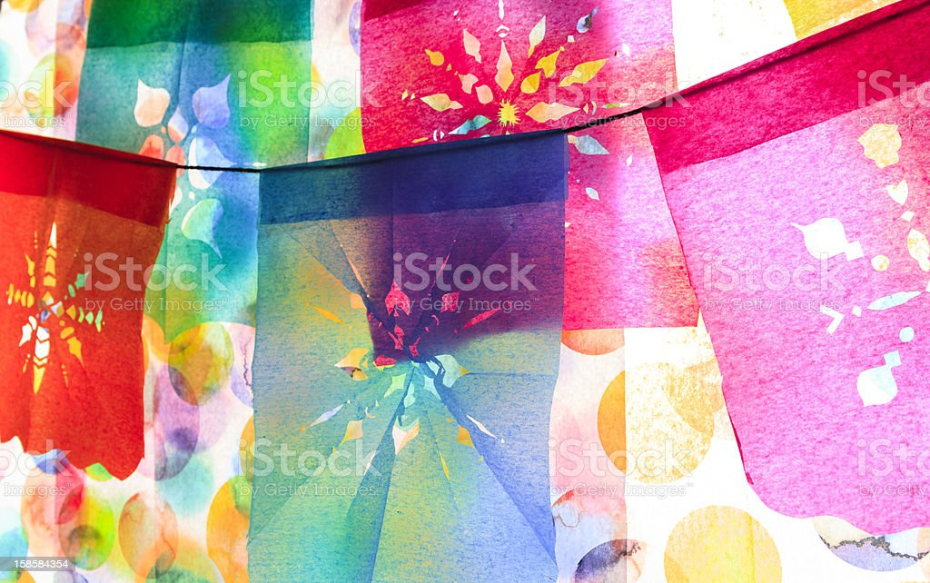 Mexican fiesta stock photo