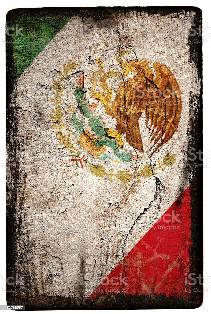 Mexican Flag XXL stock photo