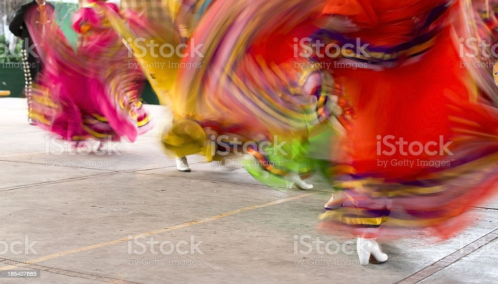 Mexican Folklore Dancers stock photo