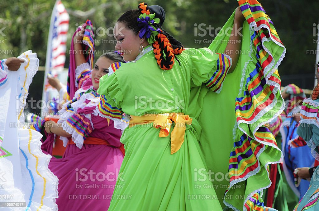 Mexican Folklore stock photo