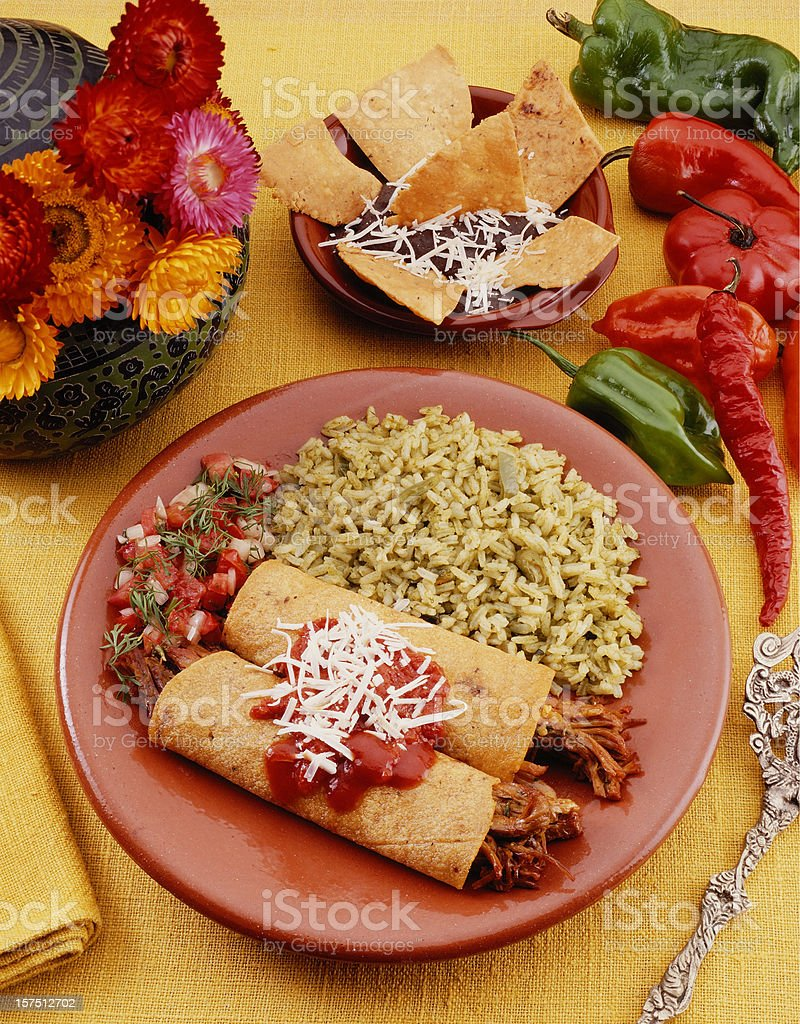 Mexican Food 04 stock photo