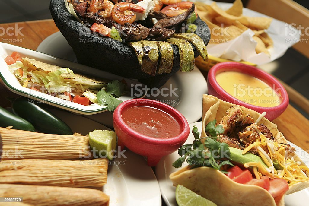 Mexican Food - Horizontal stock photo