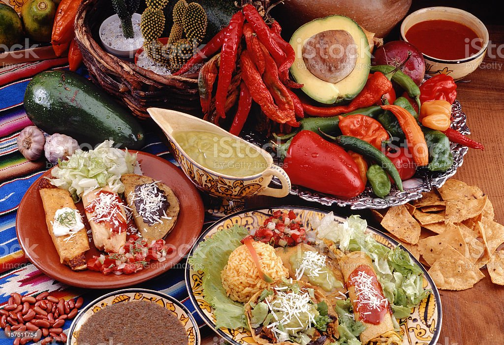 Mexican Food stock photo