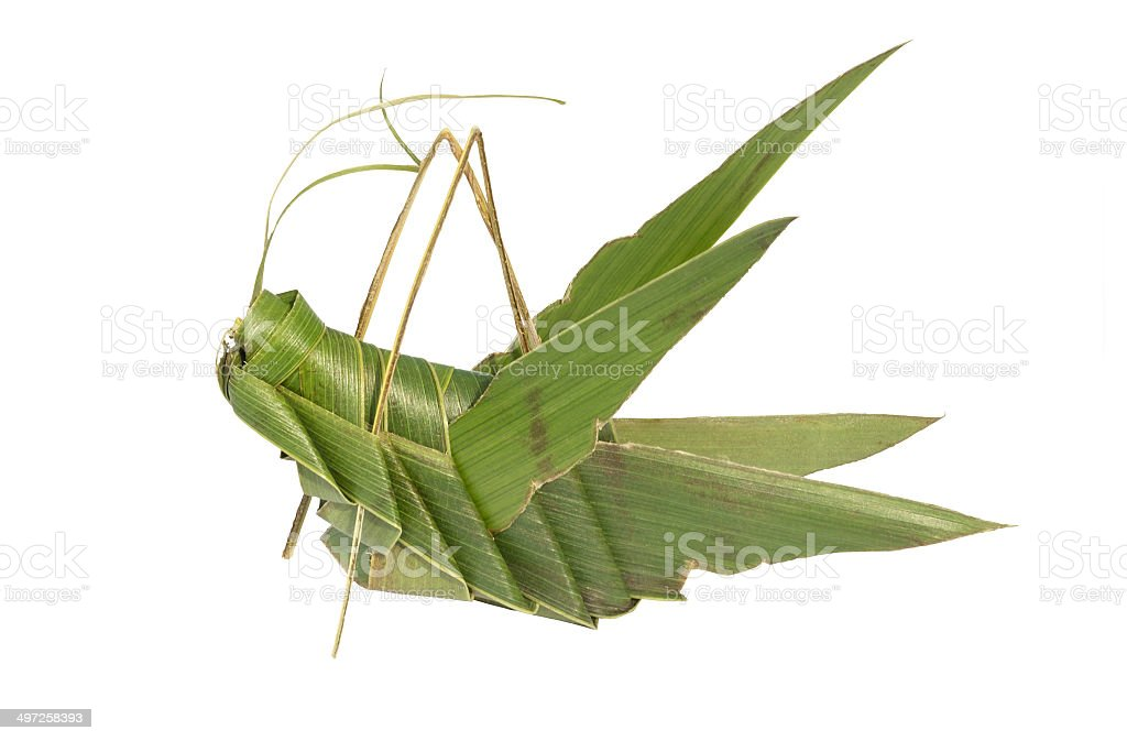 Mexican handcraft Grasshopper royalty-free stock photo