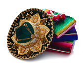 Mexican Hat, Blankets and Maracas
