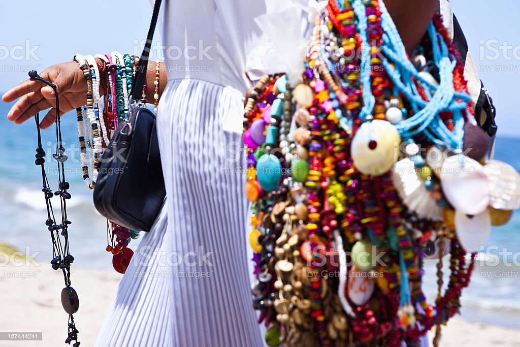 Mexican Jewelry. stock photo