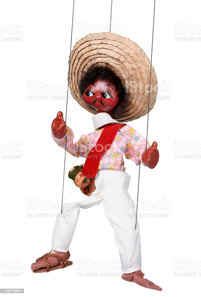 mexican marionette royalty-free stock photo