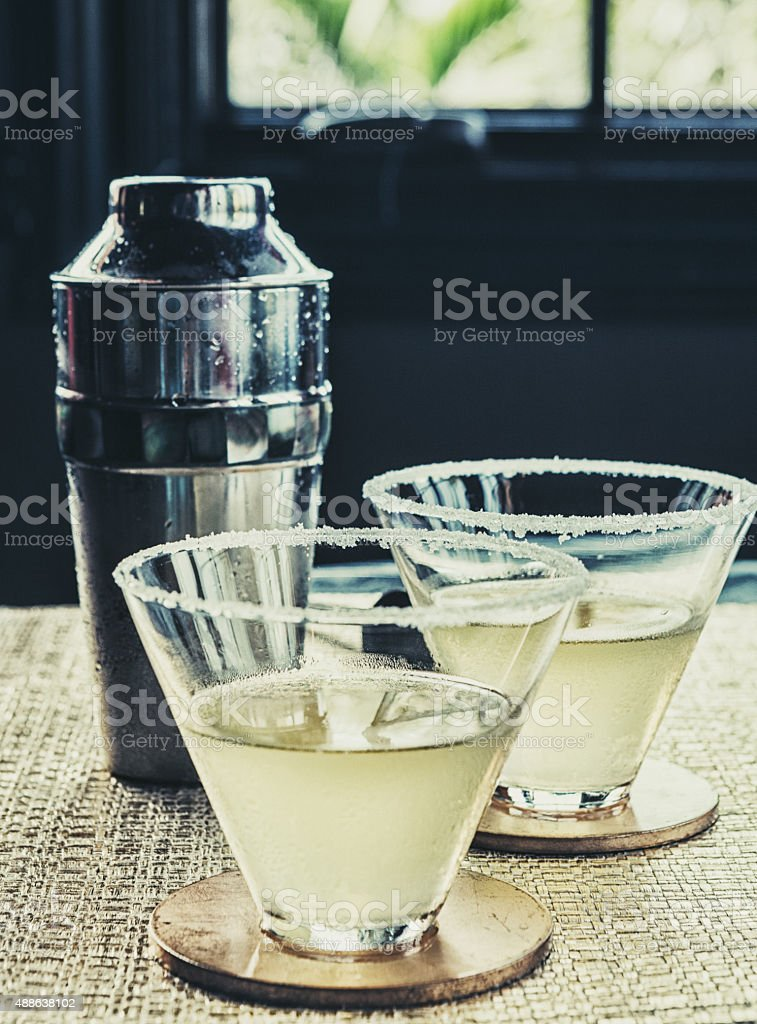 Mexican martini stock photo