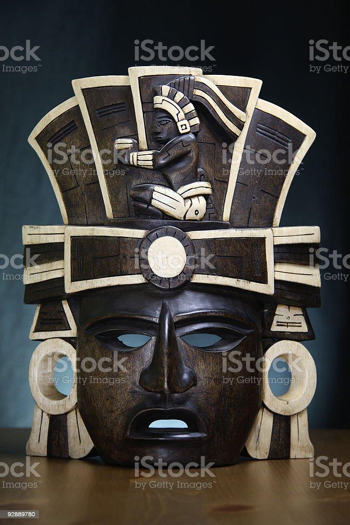Máscara de Mexicano foto de stock royalty-free