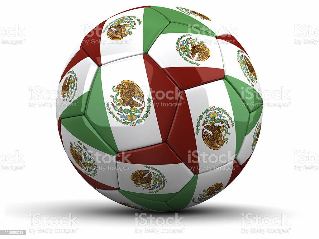mexican, mexico, football royalty-free stock photo