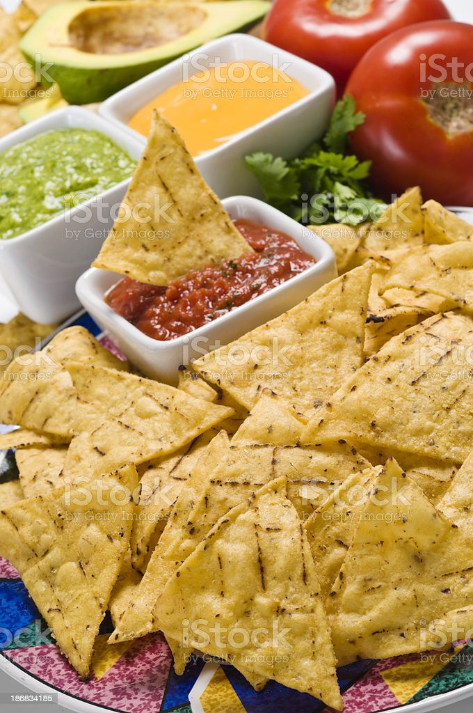 Mexican Nachos. royalty-free stock photo