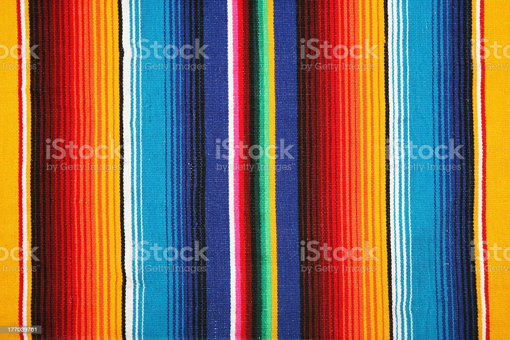 A mexican pattern in bright colors as a background stock photo