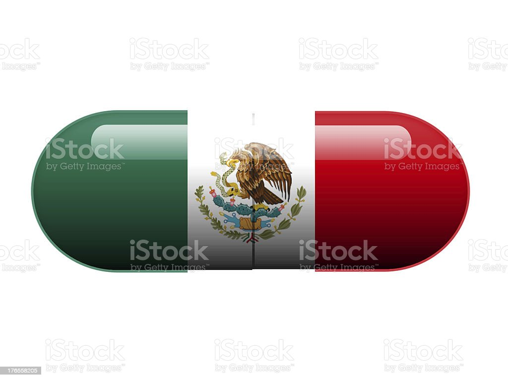 Mexican pill stock photo