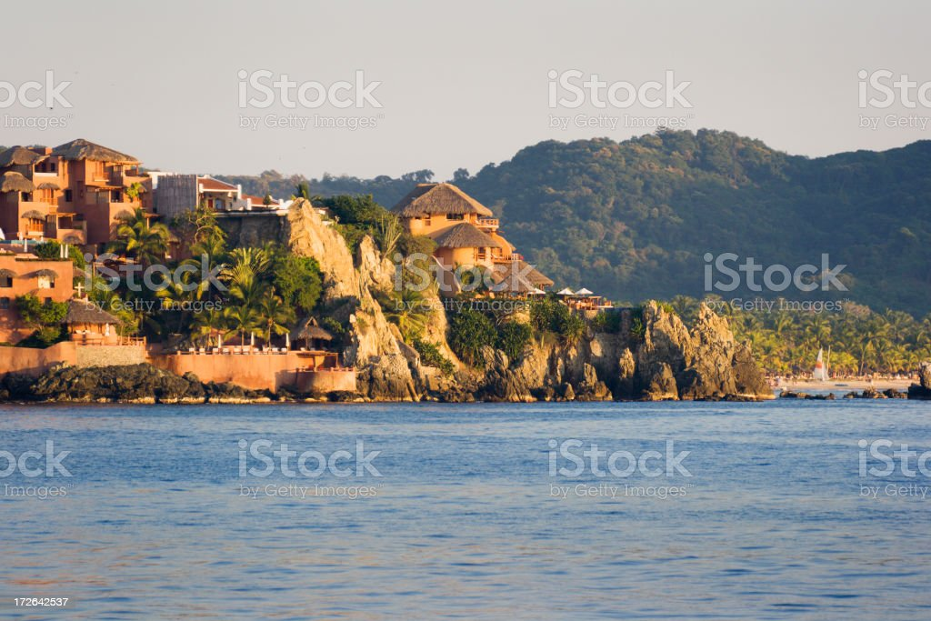 Mexican Resort Afternoon stock photo