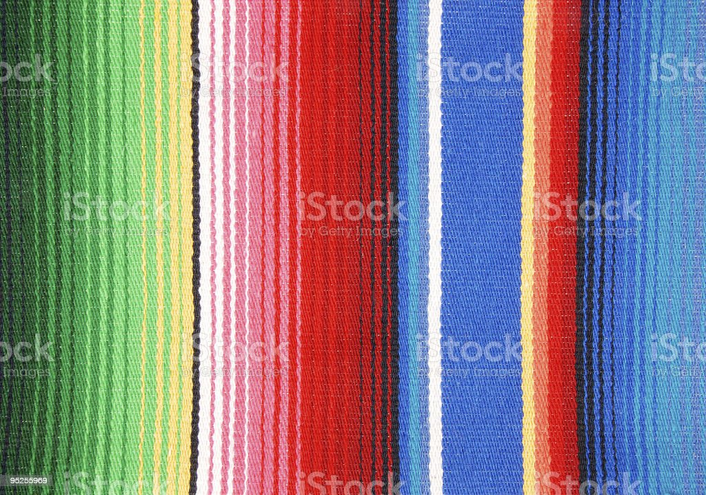 Mexican Rug Stock Photo