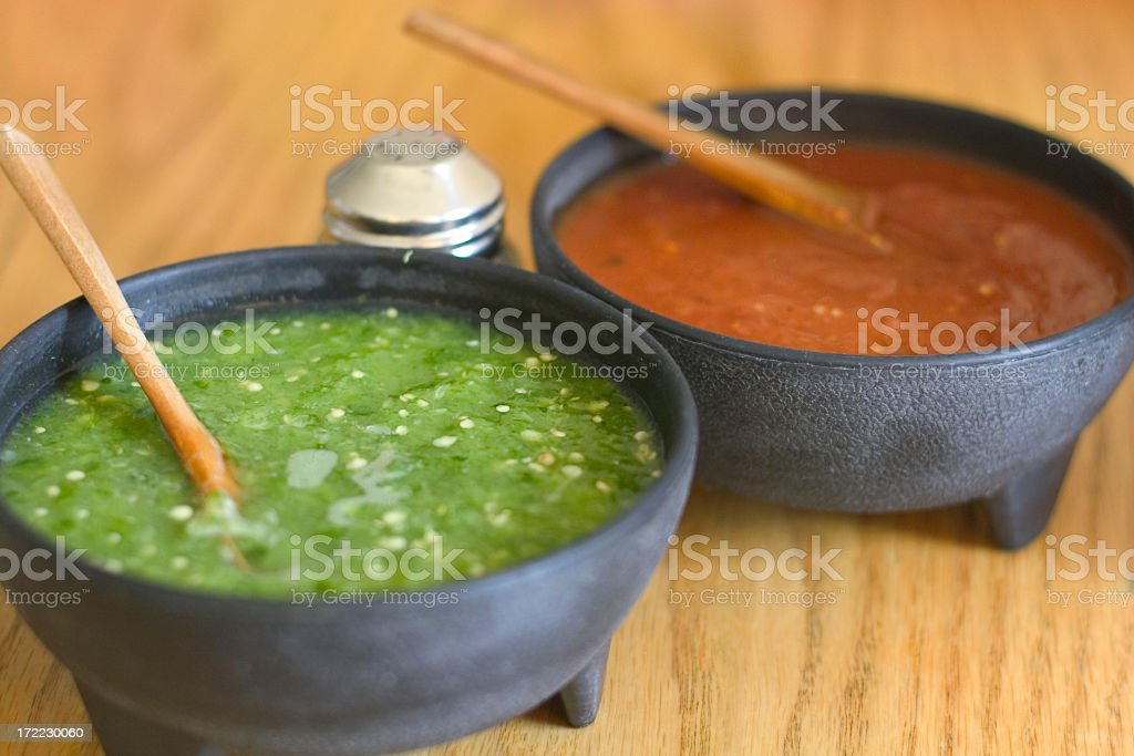 mexican salsa stock photo