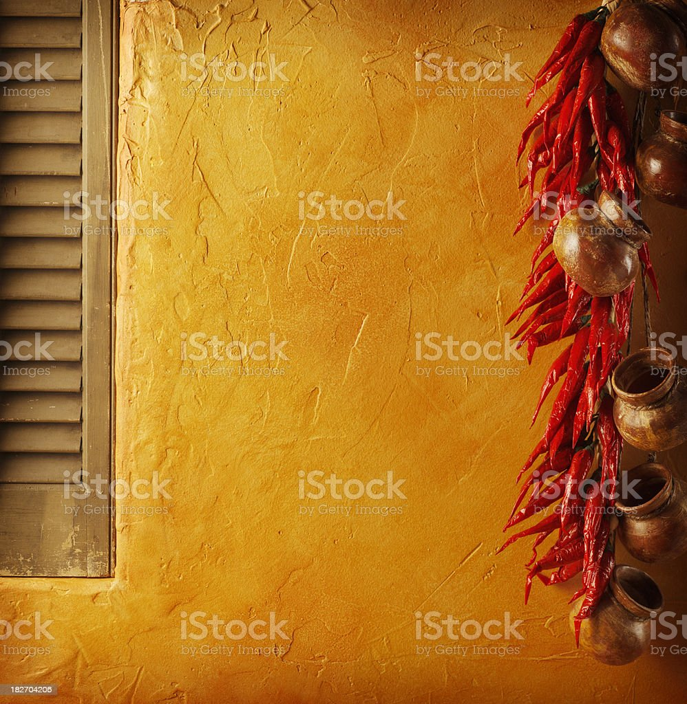 Mexican Scene royalty-free stock photo