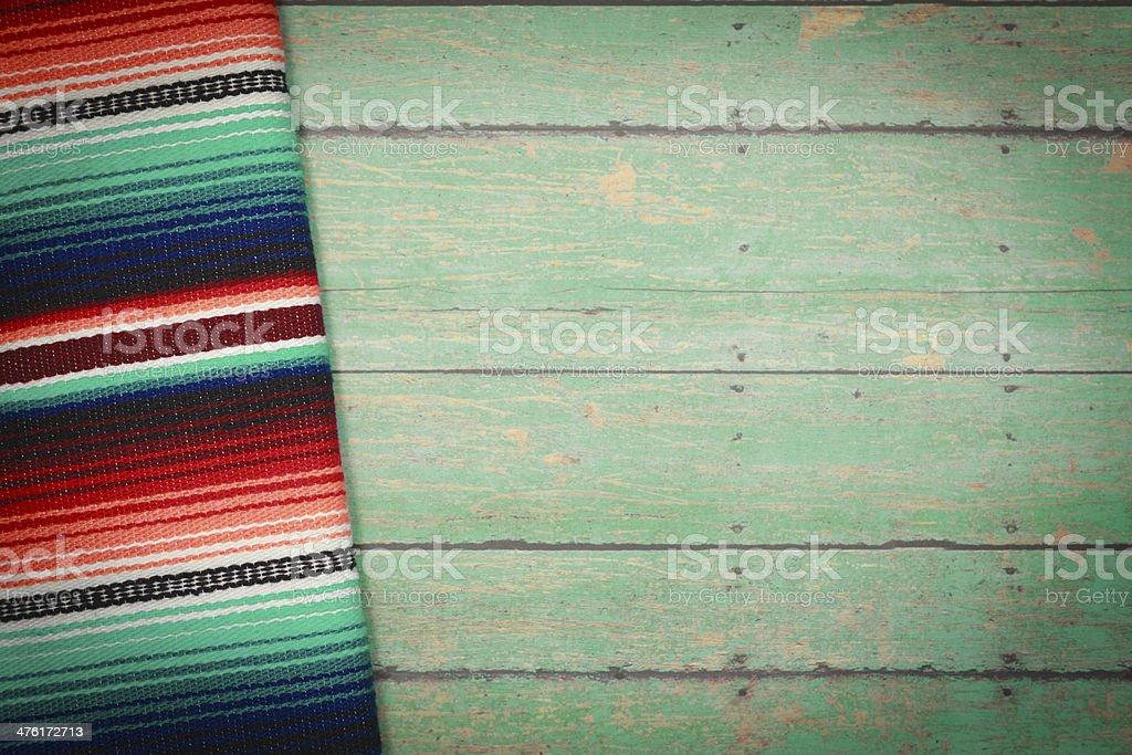 Mexican Serape Blanket stock photo