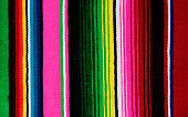 Mexican Serape Blanket, Textile Background