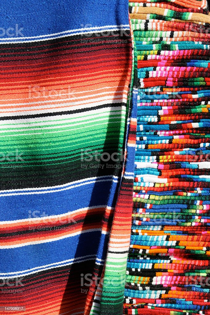 Mexican Serapes royalty-free stock photo
