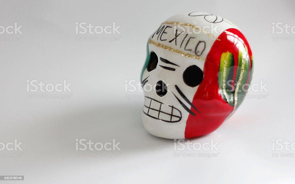 Teschio Messicano stock photo