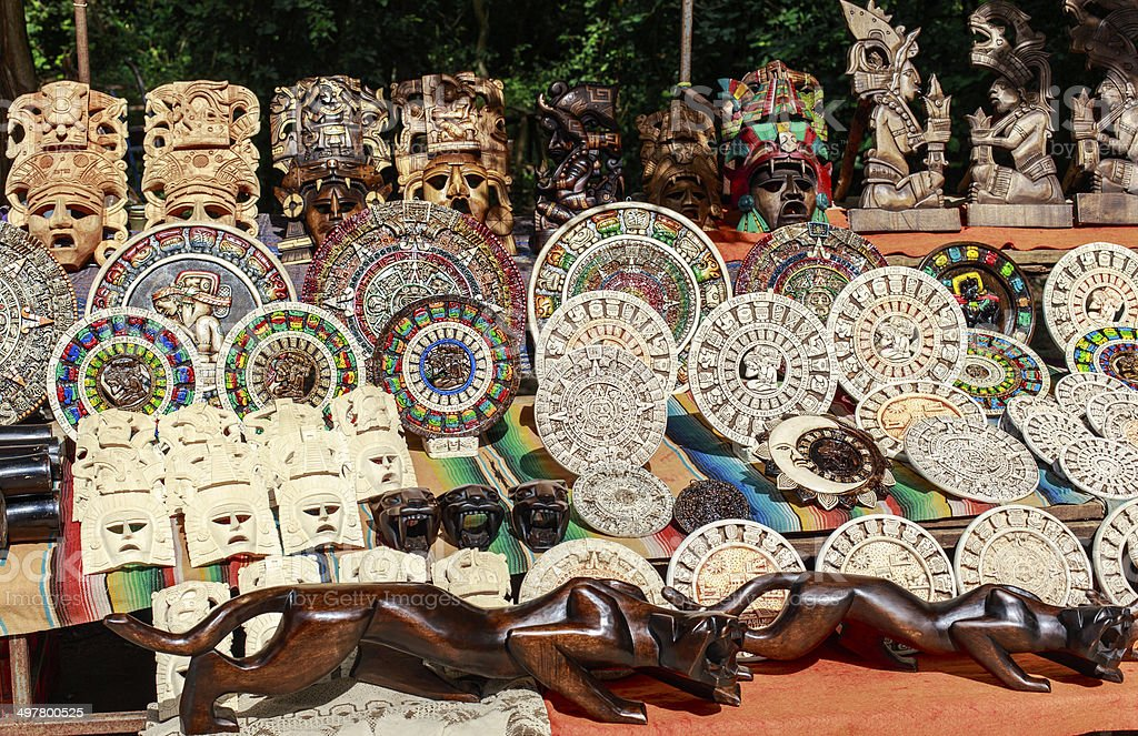 Mexican souvenirs royalty-free stock photo