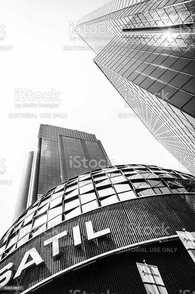Mexican Stock Exchange or Bolsa Mexicana de Valores, Mexico City stock photo