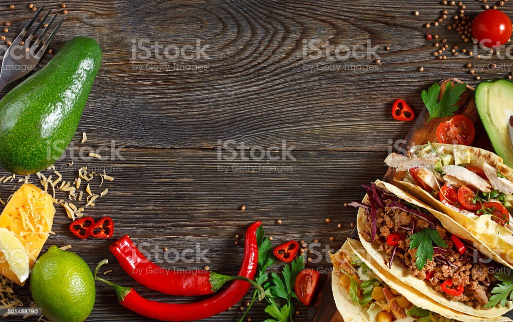 Mexican street food. stock photo