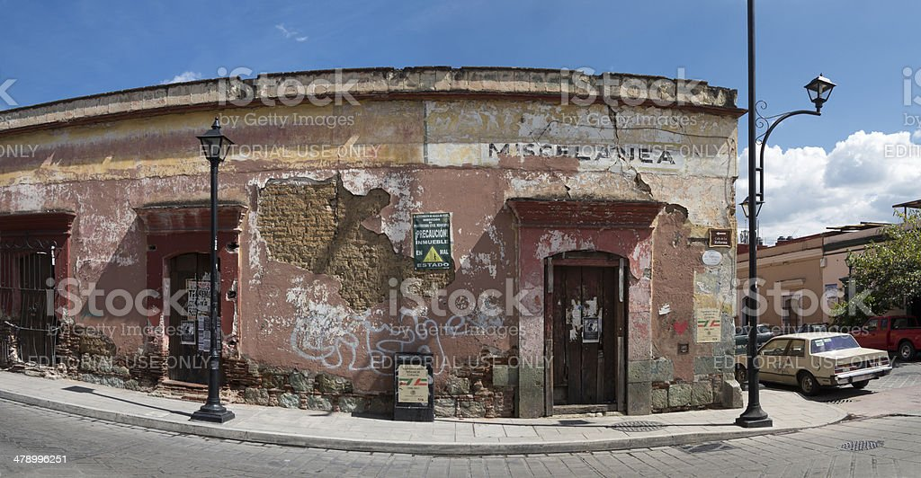 Mexican Street royalty-free stock photo