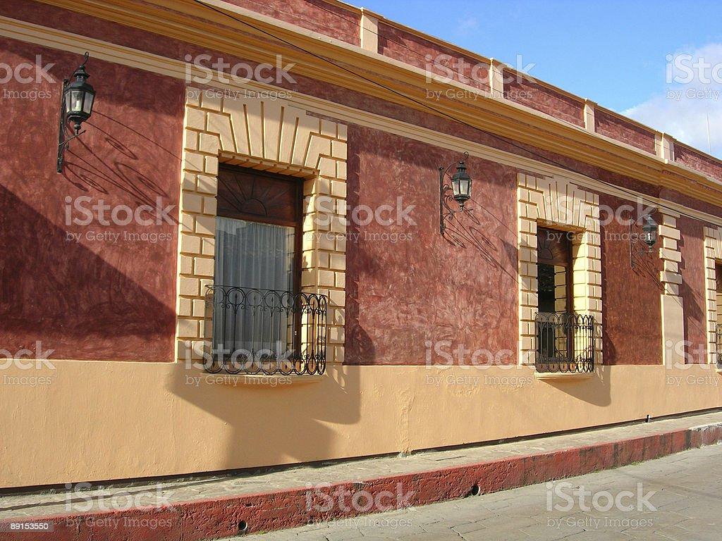 Mexican style casita stock photo