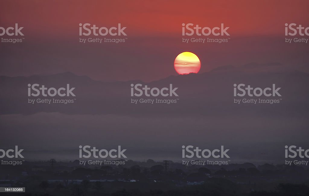 Mexican Sunrise 1 royalty-free stock photo
