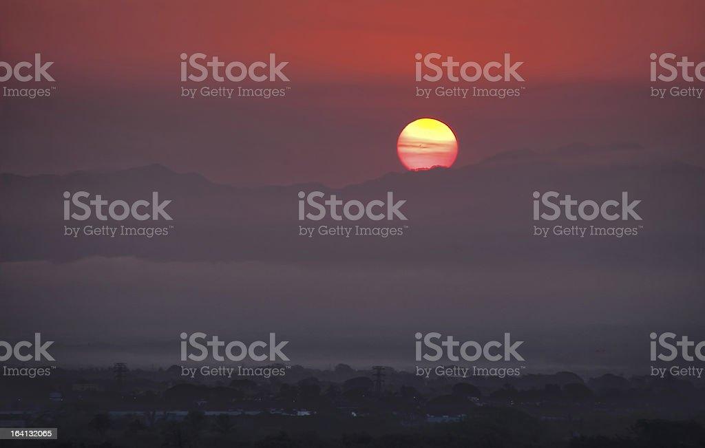 Mexican Sunrise 1 stock photo