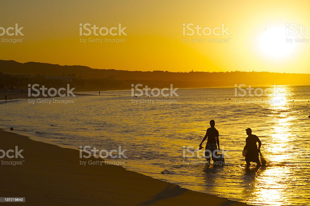 Mexican Sunset royalty-free stock photo