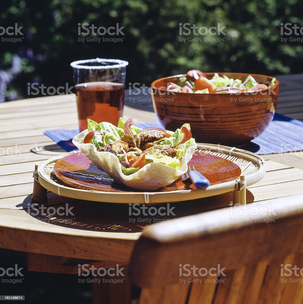 Mexican Taco salad royalty-free stock photo